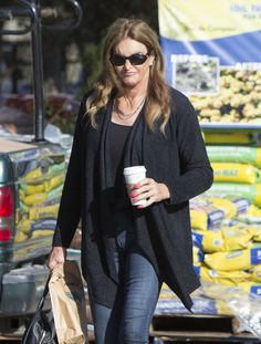 CAITLYN JENNER Out for Shopping in Malibu  actress CAITLYN JENNER