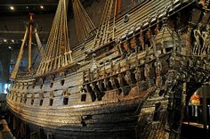 In the early 17th century, Sweden was busy building an empire around the Baltic Sea in northern Europe. A strong navy was essential. During the 1620s Sweden was at war with Poland. In 1625 the Swedish king Gustavus Adolphus ordered new warships. Among them the Vasa.    The Vasa was built at the Stockholm shipyard by Henrik Hybertsson - an experienced Dutch shipbuilder. His experience was much needed as the Vasa was to be the mightiest warship in the world, armed with 64 guns on two gundecks.