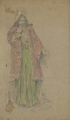 Sketch  By Vardges Surenyants  (1860 - 1921)