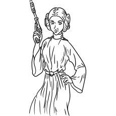 Luke Skywalker coloring page | LineArt: Star Wars | Star ...