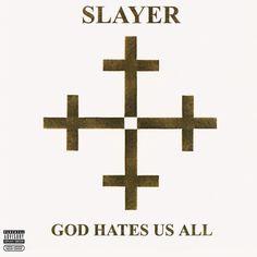 Slayer - God Hates Us All [PA] (LP Vinyl Record Oct-2013 American) #BlackMetal