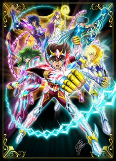 saint seiya art