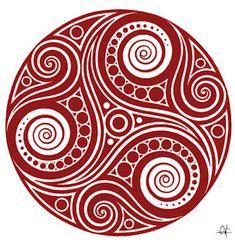 Lifestyle: cosmetique pour hommes, produits de beaute | Approved by Pierrick Goujon aka Don Korleon El Kornichone: Libre Antenne Patablog contact@triskel.org Celtic Mandala, Celtic Spiral, Celtic Art, Mandala Art, Celtic Knots, Unalome Tattoo, Celtic Patterns, Celtic Designs, Lotus Tattoo