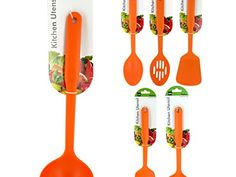 Bulk Buys HW86412 Colorful Nylon Kitchen Utensil  12 Piece *** Click image to review more details-affiliate link.