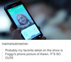 Awwww :)) I ship Karen/Foggy a little bit. Idk, I can't decide between platonic or romantic cause both intrigue me :))