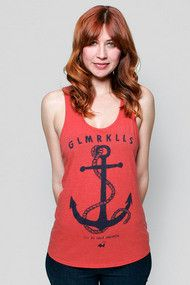 Glamour Kills Girls Be My Anchor Tank