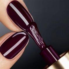 Dark plum nails....gorgeous deep color!!!