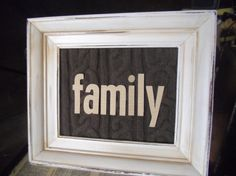 Cozy frame....sweater background in an upcycled frame