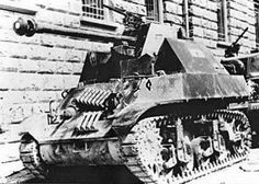 Croation M3 Stuart with captured German 75mm AT gun