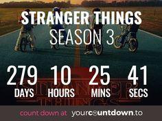 Countdown To Stranger Things Season 3 Release Date