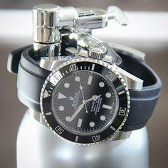 Rolex Submariner Everest rubber strap