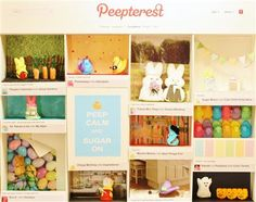 PEEPterest (Peep Show - Information Technology - Marshmallow Bunny, Peep Show, Information Technology, Diorama, Projects To Try, Place Card Holders, Marshmallows, Minnesota, Bunnies