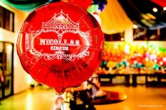 Balão metalizado personalizado