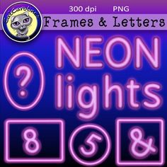 This set includes all uppercase and lowercase letters, numbers, four frames and the following special characters: # & ? ! $ Files are PNGs at 300dpi.
