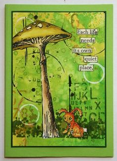 Stampotique Designers Blog: Stampotique Sponsoring Crazy4Challenges-Green Theme