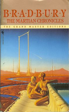 """""""The Martian Chronicles"""" by Ray Bradbury - cover artist Michael Whelan by Cadwalader Ringgold, via Flickr"""
