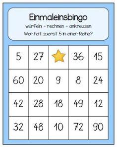 Endlich Pause 2.0: Bingo bis zur Zehnerreihe
