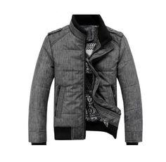 Gaorui Men Winter Sport Quilted Jacket Cotton-padded Coats Zipper Overcoat Outwear-M Gaorui http://www.amazon.com/dp/B00GUD9FQQ/ref=cm_sw_r_pi_dp_XoEiub1M6AX8J