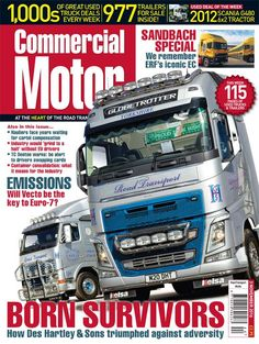 "3rd November 2016►It could be years before hauliers see compensation from the truck manufacturer cartel, says the RHA ► Hauliers say industry would ""grind to a halt"" without its EU drivers ► We look back at ERF's iconic 1993 EC ► We meet Des Hartley & Sons, the operator that battled on when life threw a truck load of trouble at them"
