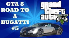"GTA 5 Online - Road To A Bugatti #5 - ""SPENDING SPREE!!"" (GTA V Online)"
