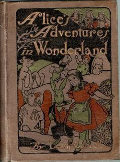 Cover of Alice with illustrations by Maria L Kirk (& John Tenniel) Published by Stokes USA in 1904