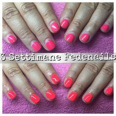 #Fedenails #nails #Fluo #nail #Love #Adoroquestolavoro