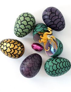 DIY Game of Thrones Dragon Eggs - Our Nerd Home