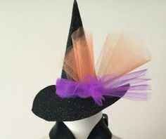 A personal favorite from my Etsy shop https://www.etsy.com/listing/458218522/fun-witchs-hat-halloween-dress-up-photo