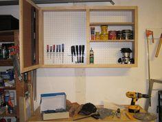 pegboard cabinet
