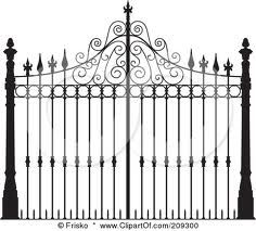 Wrought iron garden gates SAT 031-in Doors from Home Improvement ...