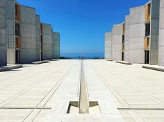 The Salk Institute for Biological Studies is an independent, non-profit, scientific research institute that was founded in 1960 by Jonas Salk, the developer of the polio vaccine. Mr. Salk had sought to make a beautiful campus in order to draw the best researchers in the world. ...I think it worked! I feel smarter just standing here. . . . #smartypants #architecture #science #lajolla #lajollalocals #sandiegoconnection #sdlocals - posted by   https://www.instagram.com/hurleyface. See more post…