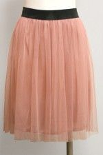 Ballerina Skirt.....I can totally see myself in this!  :)  It's the inner ballerina in me!