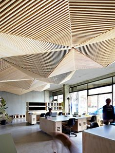 5 Jaw-Dropping Cool Tips: False Ceiling Bathroom Interiors false ceiling design colour.False Ceiling Design Office false ceiling with fan and chandelier. Best Office Design, Workplace Design, Office Interior Design, Home Interior, Office Designs, Interior Ideas, Studio Interior, False Ceiling Design, Space Interiors