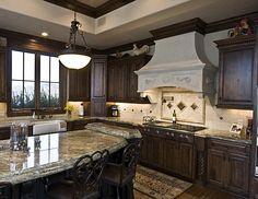 Elegant classic kitchen.
