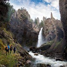 Hiking in Wyoming via @chelseakauai #LiveTravelChannel