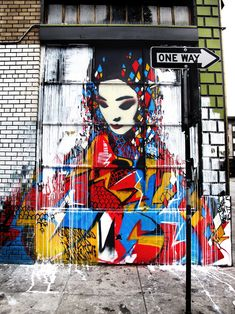 Hush. One of my favorite street artist. This piece is just breathtaking. #streetart