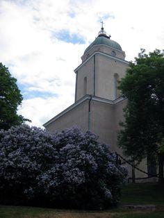Suomenlinna Sea Fortress, Finland  Our wedding church, 12.8.1995