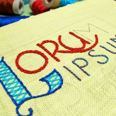 Do you want to make your embroidery projects really personal? A great way to do that is to embroider your own handwriting!