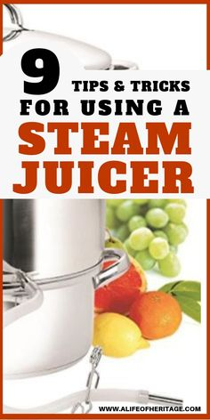 A steam juicer can have serious benefits in your kitchen. Heres why and also 9 tips and tricks you need to know when using a steam juicer. - Juice Extractor - Ideas of Juice Extractor Juicer Recipes, Canning Recipes, Blender Recipes, Steam Juicer, Juice Extractor, Apple Juice, Apple Cider, Survival Tips, Homestead Survival