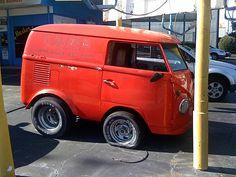 """""""Mini"""" VW Van <3  how cute is this?"""