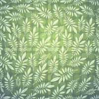 set of seamless leaves pattern vector