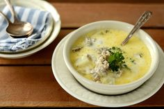 Sausage & Potato Soup.... could I make this into a close but healthier version of zuppa soup from OG? Hmmm..
