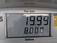 Got mildly infuriated pumping my gas