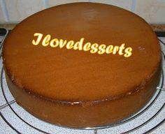 I LOVE DESSERTS: Pan di Spagna al cacao