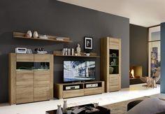 Wohnwand Riviera Eiche Hell Mit Beleuchtung Woody 22-00923 MDF Modern Jetzt bestellen unter: https://moebel.ladendirekt.de/wohnzimmer/schraenke/wohnwaende/?uid=2caa1af7-3459-58a3-b8a4-e0d974e7b4cf&utm_source=pinterest&utm_medium=pin&utm_campaign=boards #schraenke #wohnw #dinaro #wohnzimmer #wohnwaende