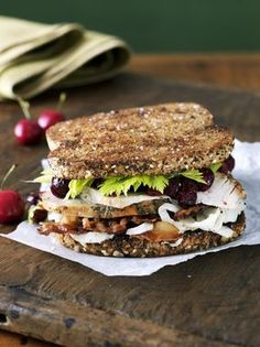 Chipotle Turkey Club Sandwich - Spice up your leftovers!