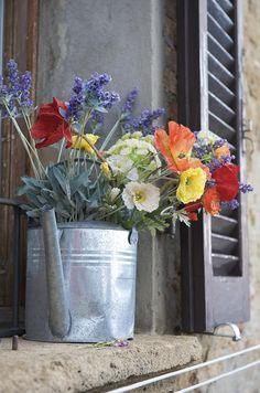 Shabby style flowers..