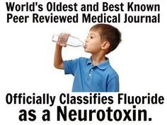Harvard Study Finds Fluoride Lowers IQ – Published in Federal Gov't Journal.