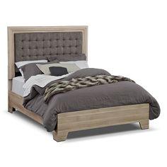 Highland Birch Bedroom Queen Bed   Furniture.com $269.99
