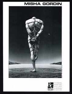 1995 Misha Gordin Art Amputee Man In Chains Bentley Gallery Print Ad Print Ads, Chains, Favorite Color, Blood, Creativity, Gallery, Artist, Roof Rack, Print Advertising
